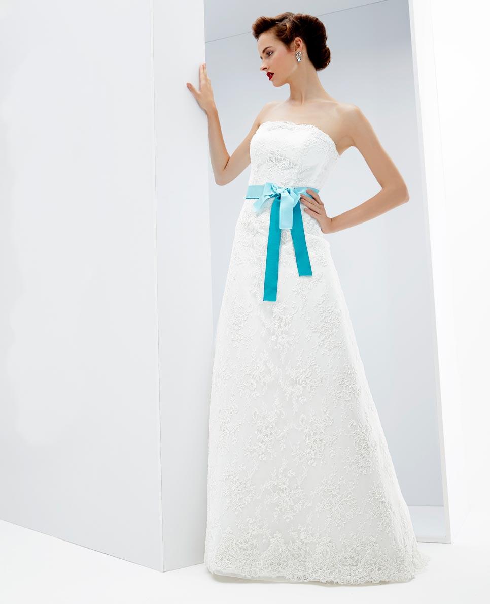 Matrimonio Abito Azzurro : Abiti da sposa azzurro tiffany migliore collezione