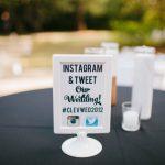matrimonio con hashtag